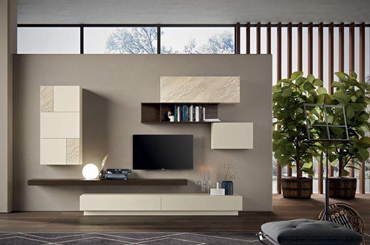 Zona giorno living moderno 5 quattro stelle arredamenti for Zona living moderna